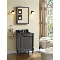 "Fairmont Designs Rustic Chic 24"" Vanity - Silvered Oak 143-V24_"