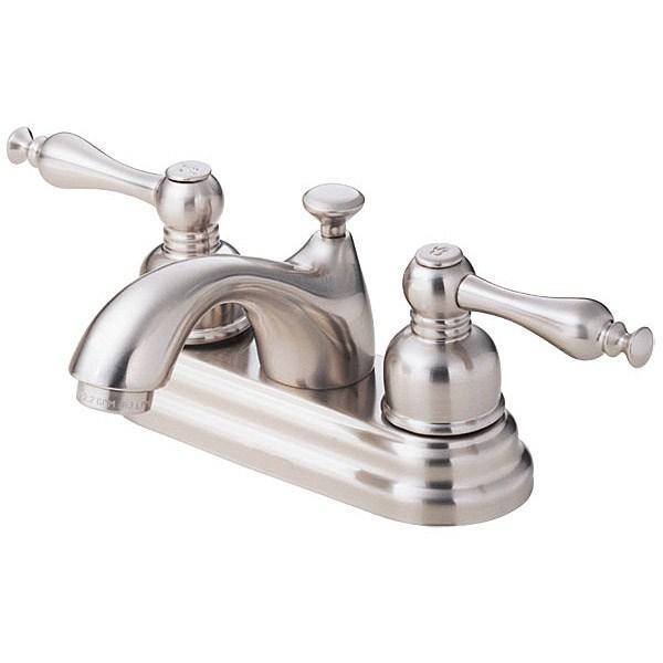 Danze® Sheridan™ Two Handle Centerset Lavatory Faucet - Brushed Nickelnohtin Sale $162.75 SKU: D301155BN :