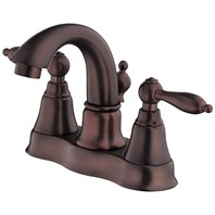 Danze® Fairmont™ Two Handle Centerset Lavatory Faucet - Oil Rubbed Bronze