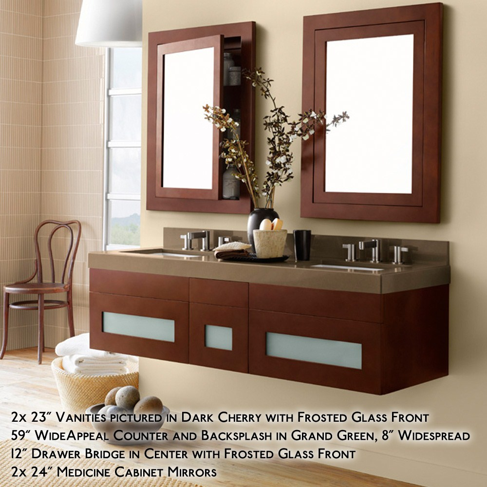 Ronbow Rebecca 58 Double Vanity Undermount Free Shipping Modern