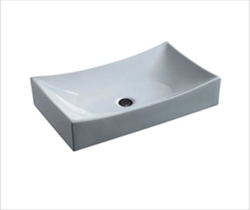 Mini Vessel Sink : Bali - Small Porcelain Vessel Sink Free Shipping
