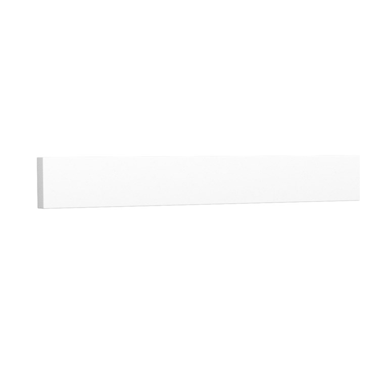 "Replacement 24"" Backsplash - White Cultured Marble REPL-WC-VCA-24-BS-WHC"