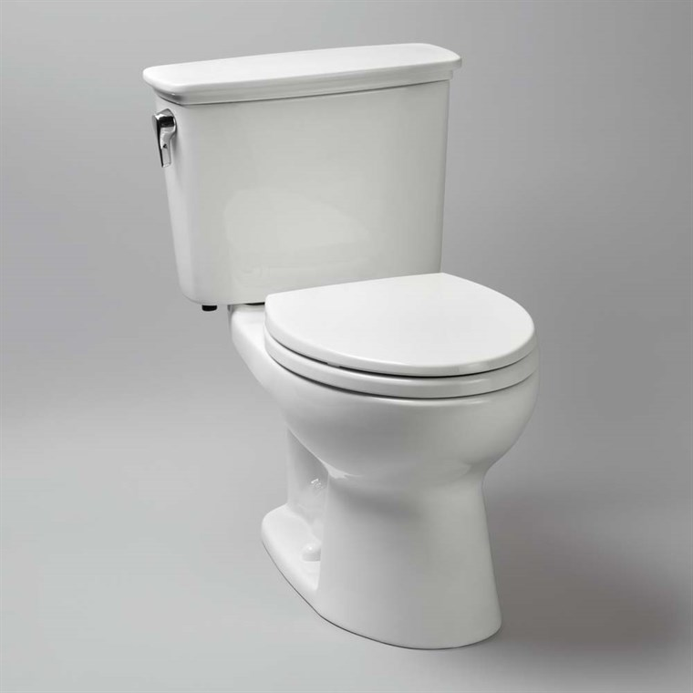 "TOTO Eco Drake Transitional Two-Piece Elongated Toilet with 10"" Rough-In, 1.28 GPF CST744EFN.10"