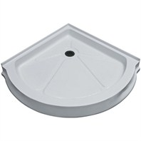 "Vigo Industries Round Shower Base - 40"" x 40"" VG06039WHT40"