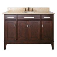 "Avanity Madison 48"" Single Bathroom Vanity - Light Espresso AVA6027-48-LESP"