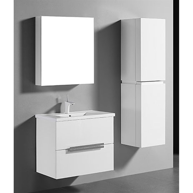 "Madeli Urban 30"" Bathroom Vanity for Integrated Basin - Glossy White B300-30-002-GW"