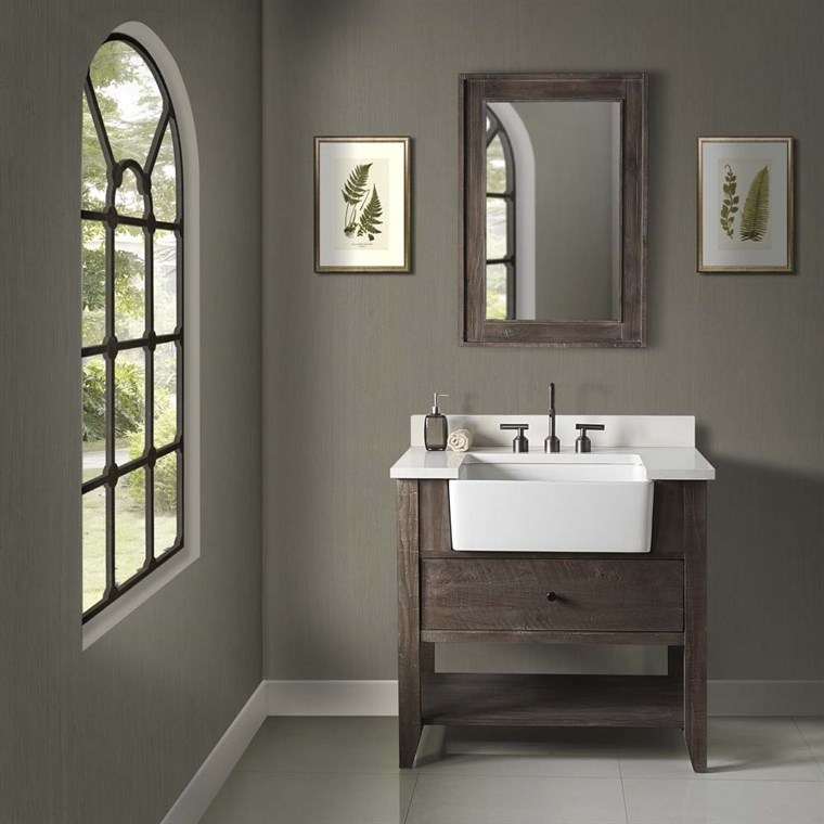 "Fairmont Designs River View 36"" Farmhouse Vanity - Coffee Bean 1516-FV36"