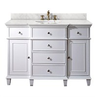 "Avanity Windsor 48"" Vanity Only - White AVA11401-48-WHT-"