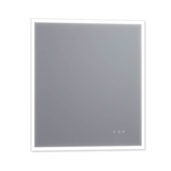 "Luxaar Lucent 34 "" x 36 "" Wall Mounted LED Vanity Mirror with Color Changer, Dimmer and Defogger LEDCM3436"
