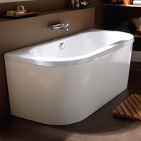 "Americh International Saturn Freestanding Bathtub - White (66"" x 29"" x 24"") CW65"