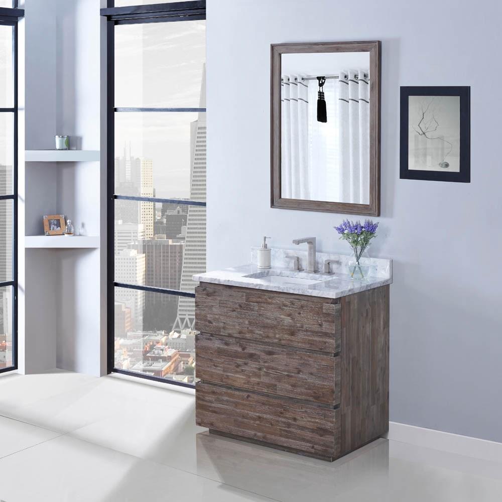 "Fairmont Designs Acacia 36"" Vanity - Organic Brownnohtin Sale $1223.00 SKU: 1522-V36 :"