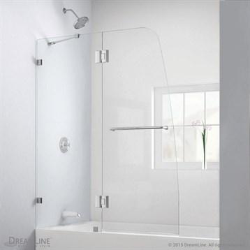 Bath Authority DreamLine Aqua Lux Clear Glass Tub Door by Bath Authority DreamLine
