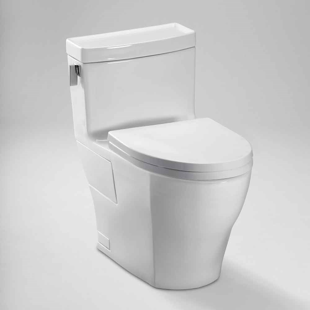 TOTO Legato One-Piece Elongated Toilet, 1.28 GPF - SoftClose Seat ...