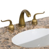 Heritage 1 Widespread Bathroom Faucet - Antique Brass HERITAGE 1
