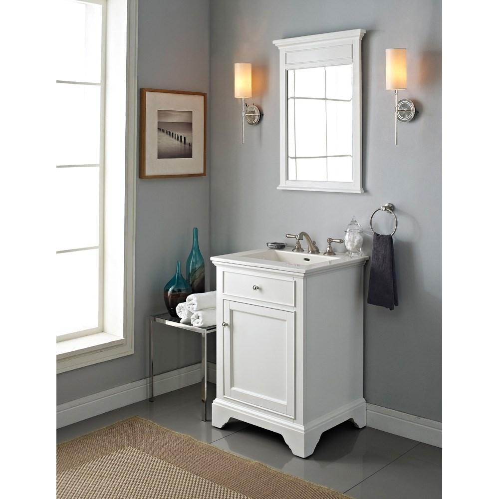 Fairmont Designs Framingham 24 Vanity Polar White