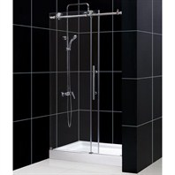 "Bath Authority DreamLine Enigma-X Sliding Shower Door (44""-48"") SHDR-61487610"