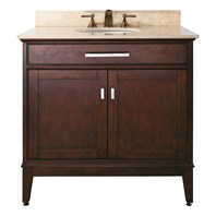 "Avanity Madison 36"" Single Bathroom Vanity - Light Espresso AVA6027-36-LESP"