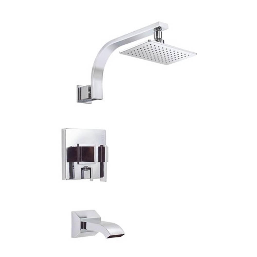 Danze Sirius 1H Tub & Shower Trim Kit w/ Diverter on Valve 1.75gpm - Chromenohtin Sale $315.75 SKU: D511044T :