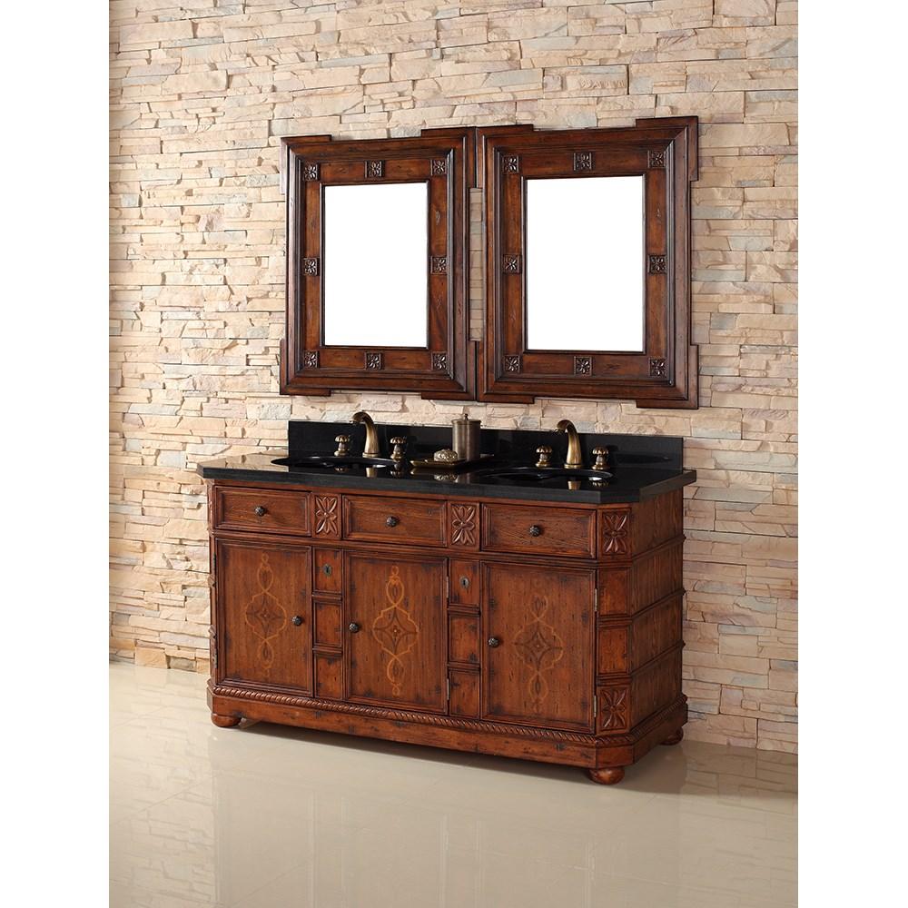 "James Martin 60"" Charleston Double Vanity - Burnished Ashnohtin Sale $1795.00 SKU: 400-V60D-BNA :"