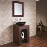 "Avanity Prado 22"" Single Bathroom Vanity Set - Dark Walnut PRADO-V22-DW"