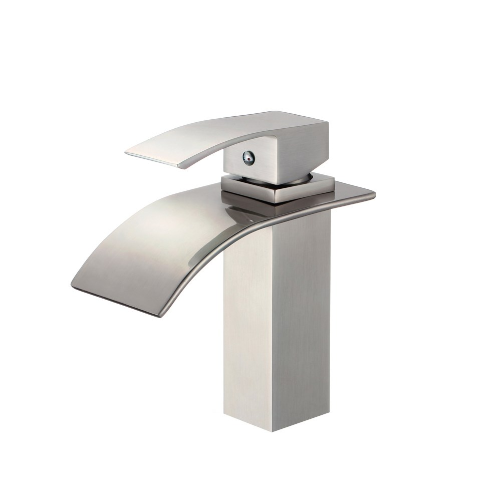 Piatti Contemporary Single Hole Bathroom Faucet Free Shipping