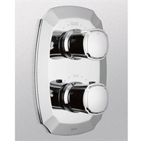 TOTO Guinevere™ Thermostatic Mixing Valve Trim w/ Dual Volume Control