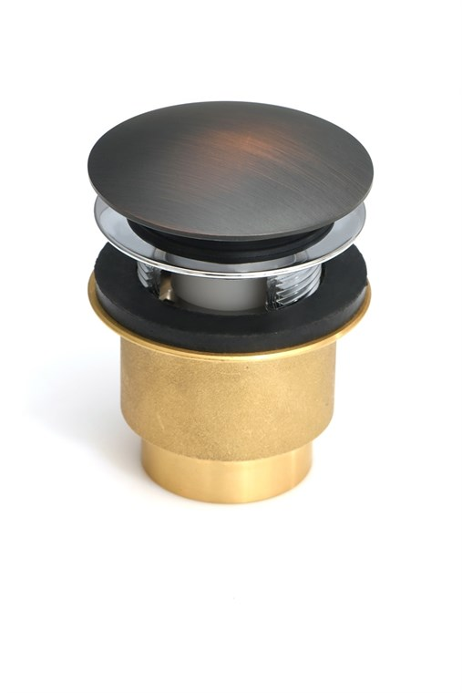 Euroclicker Waste Overflow Kit, Venetian Bronze Euroclicker-FA-VB