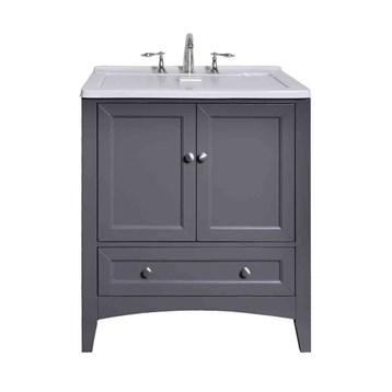 dp vanity with tub ceramic slop modern hardwood room cabinet mop com amazon hard alexander white sink utility laundry contemporary deep