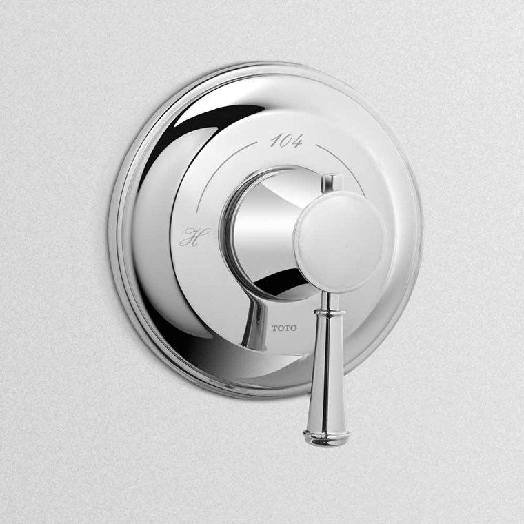 TOTO Vivian Thermostatic Mixing Valve Trim TS220T