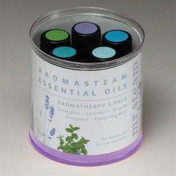 Mr. Steam Essential Oils, 5 Pack MS ESSENTIAL5 by mr. steam