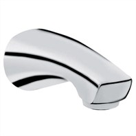 "Grohe Arden 6"" Tub Spout - Infinity Brushed Nickel"