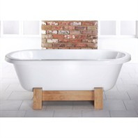"Americh International Orient Freestanding Bathtub - White (66"" x 29"" x 18"") CW63"