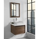 "Fairmont Designs M4 24"" Wall Mount Vanity for Vessel Sink - Natural Walnut 1505-WV24--"