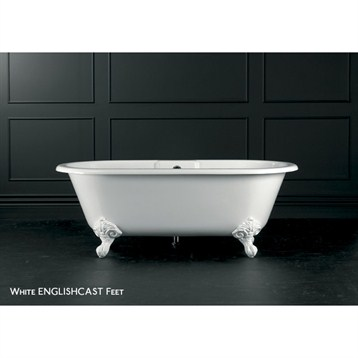 Cheshire clawfoot bathtub by victoria and albert free for Victoria albert clawfoot tub