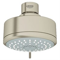 Grohe New Tempesta Cosmopolitan 100 Four-Sprays Head Shower - Brushed Nickel GRO 27591EN0