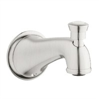 Grohe Seabury Wall Mounted Diverter Tub Spout - Infinity Brushed Nickel