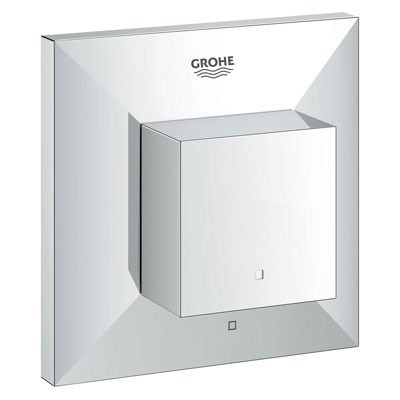 Grohe Allure Brilliant Volume Control Trim - Starlight Chrome GRO 19797000