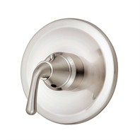 "Danze® Bannockburn™ Single Handle 3/4"" Thermostatic Shower Valve Trim Kit - Brushed Nickel"