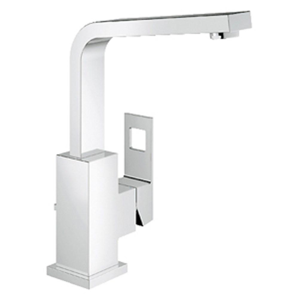 Grohe Eurocube Tall Lavatory Single-hole Centerset - Starlight Chromenohtin Sale $325.99 SKU: GRO 23184000 :
