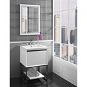 "Fairmont Designs M4 24"" Vanity for Integrated Sinktop - Glossy White 1525-V24-"