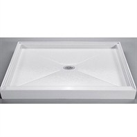 "MTI MTSB-6042CD Shower Base (59.5"" x 41.75"")"
