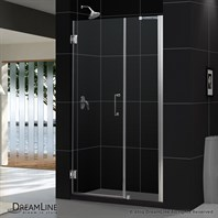 "Bath Authority DreamLine Unidoor Frameless Adjustable Shower Door (42""-43"") SHDR-20427210C"