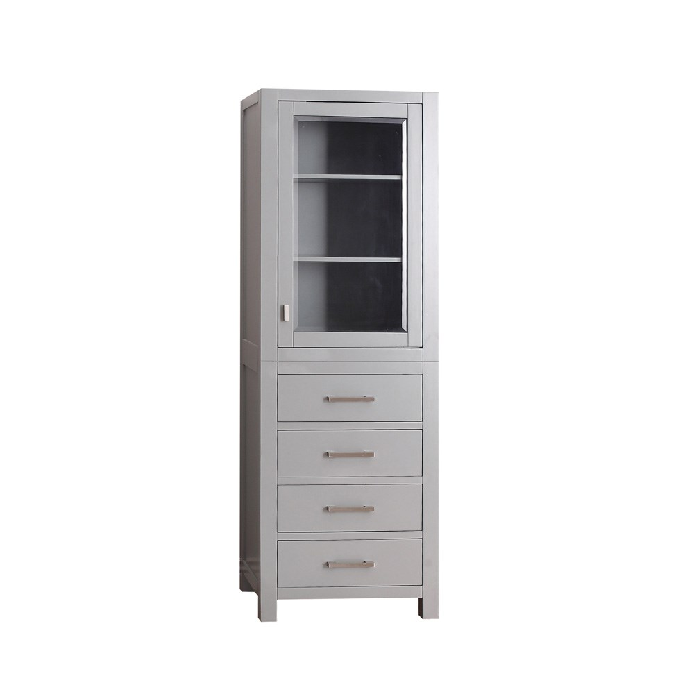 "Avanity Modero 24"" Linen Tower - Chilled Gray"