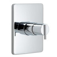 JADO Glance Pressure Balance Shower Valve Trim - Lever Handle