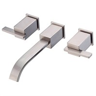 Danze® Sirius™ Two Handle Wall Mount Lavatory Faucet Trim Kit - Brushed Nickel