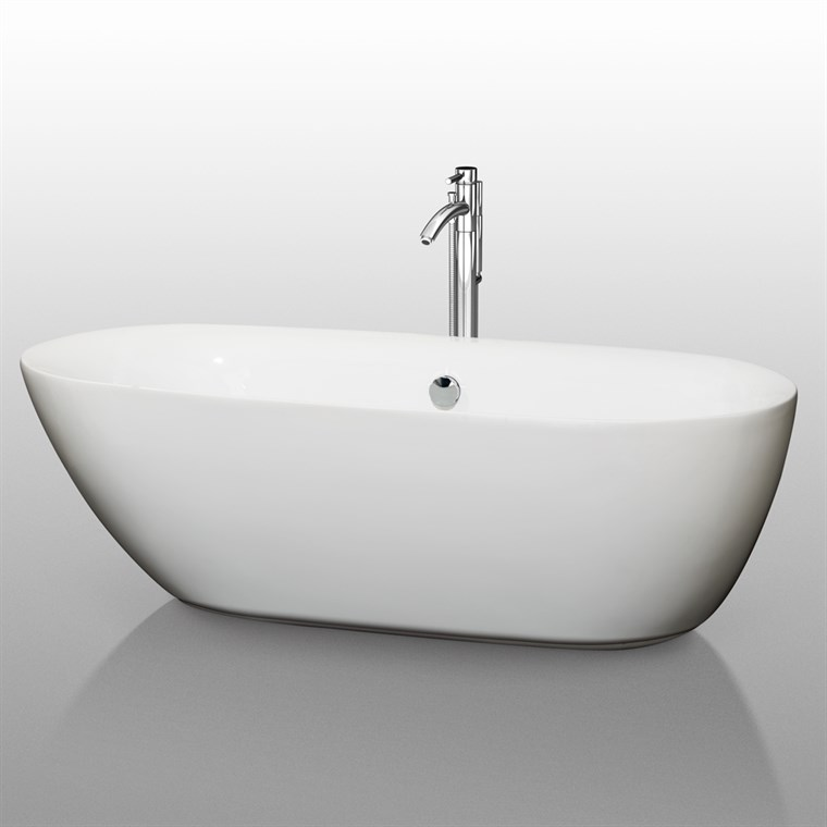 "Melissa 71"" Soaking Bathtub by Wyndham Collection WC-BT1000-71"