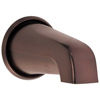 "Danze 8"" Wall Mount Tub Spout - Tumbled Bronze D606325BR"