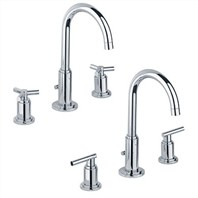 Grohe Atrio High Spout Lavatory Wideset - Starlight Chrome