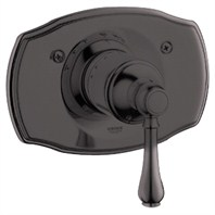 Grohe Geneva Thermostat Trim with Lever Handle - Oil Rubbed Bronze