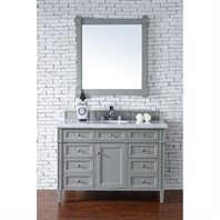 "James Martin 48"" Brittany Single Vanity - Urban Gray 650-V48-UGR"